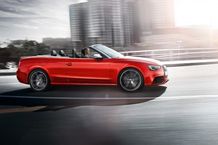2014 Audi R8 and RS 5 Cabriolet debut at the North American Auto Show