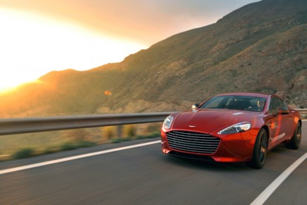 Rapide S – the most powerful four-door Aston Martin to date