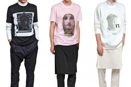 The cult of communion: Givenchy 2013 Spring Summer total look