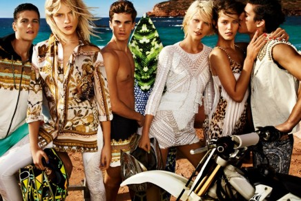 Ibiza and the sense of freedom: Just Cavalli spring summer 2013 campaign