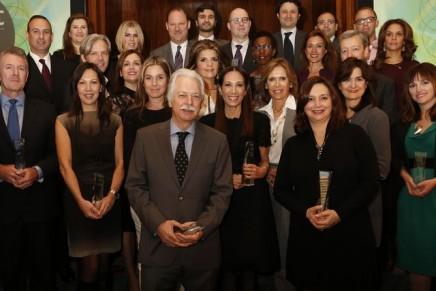 Shiseido Honorary Chairman receives WWD Beauty Inc 2012 Visionary of the Year Award