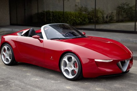New Alfa Romeo roadster to be produced by Mazda