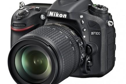 High-performance DX-format D7100 digital SLR camera released by Nikon