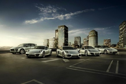 Porsche set another sales record in China