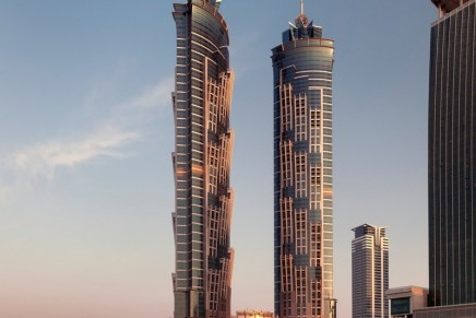 Tallest hotel in the world celebrates its opening