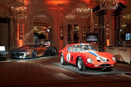 The winning cars of the 2013 Louis Vuitton Classic Awards