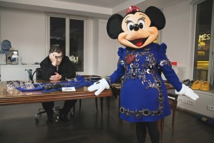 Minnie Mouse dressed by Lanvin for the 20th anniversary of Disneyland Paris