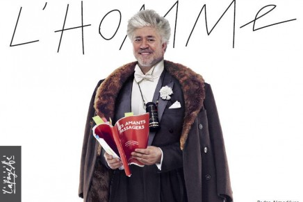 Pedro Almodovar – the new face of Parisian Galeries Lafayette