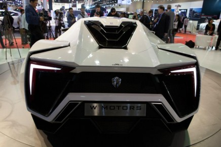 26 new cars at Qatar Motor Show, including futuristic LykanHypersport and Aventador LP 700-4 Roadster