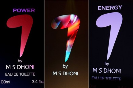 India's cricket captain MS Dhoni reveals his own perfume collection