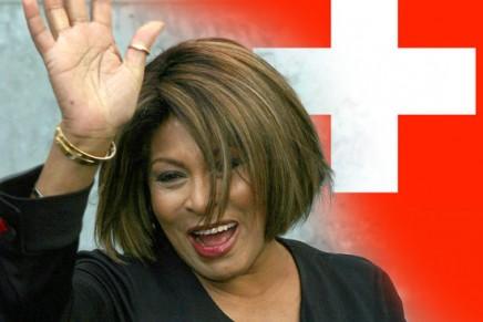 Tina Turner becomes Swiss