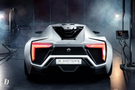 Meet the first Arab supercar – W Motors Lykan HyperSport 2013