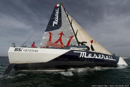 A new record on the Golden Route set by Giovanni Soldini & Maserati