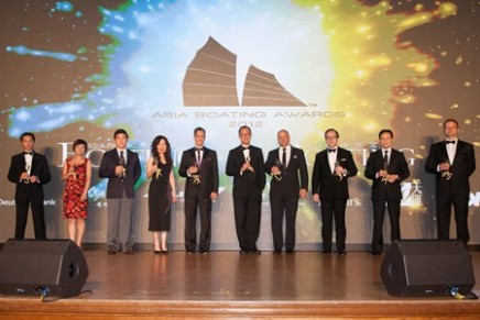 The best of the yachting industry in Asia recognized at BMW Asia Boating Awards 2013