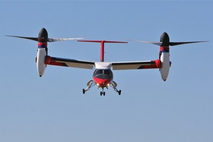 The world's first electric tilt-rotor aircraft revealed