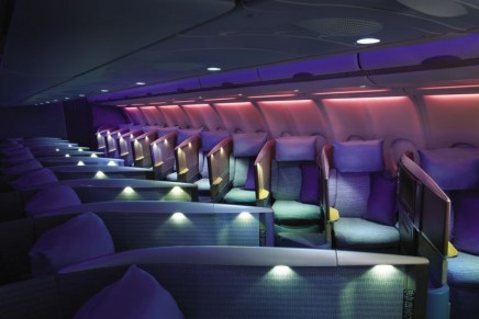 The most comfortable business class seating