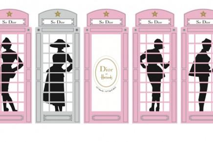 Swinging London: Dior takes over Harrods