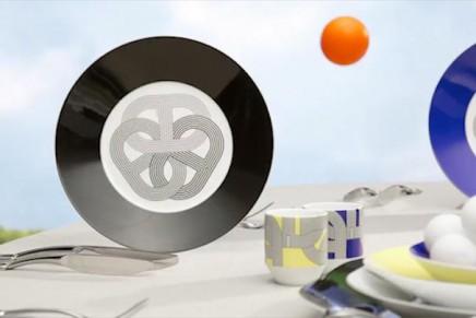 Vive le sport: Hermès Rallye 24 tableware
