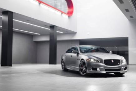 Jaguar XJR with 550HP becomes dynamic flagship sedan of Jaguar lineup