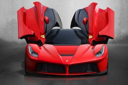 Ferrari's limited-series LaFerrari revealed at 83rd Geneva Motor Show