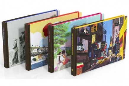 Explore with pencil and color: artistic travel books unveiled by Louis Vuitton