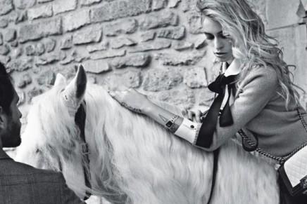 Alice Dellal is the new Chanel sexy rider
