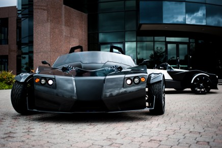 Lithium powered Torq Roadster – world's fastest 3 wheeled electric vehicle