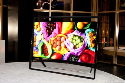 Samsung UN85S9 ultra-high definition TV – one of the wold's most expensive and biggest
