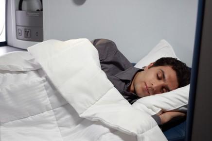 Delta Air Lines showcasing its renewed focus on sleep