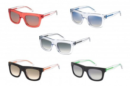 Fluorescent personality: Marc by Marc Jacobs sunglasses