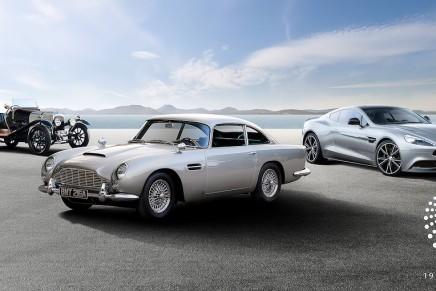 Aston Martin takes its centenary celebrations on tour throughout Europe