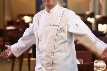 Celebrity chef Nobu Matsuhisa to host once-in-a-lifetime onboard vintage room menu