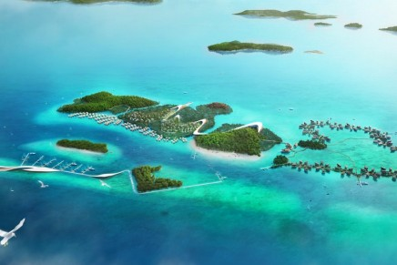 The largest eco theme park to be build in Riau Islands, Indonesia