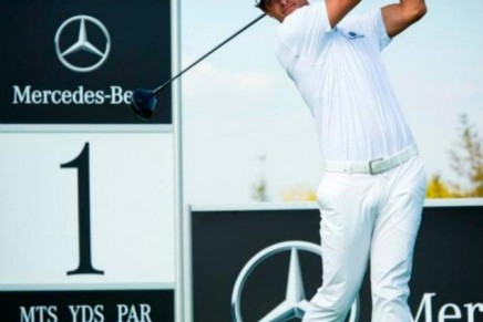 20 years in golf marked by Mercedes-Benz