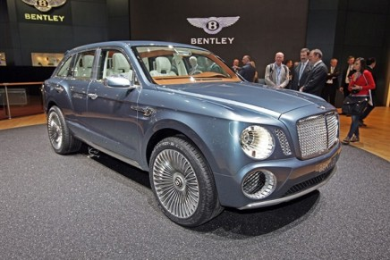 Bentley's first 4×4 likely to be made in Bratislava, not Crewe