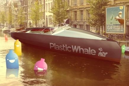Plastic Whale fighting the plastic soup