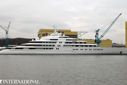 Azzam – the world's largest private yacht revealed