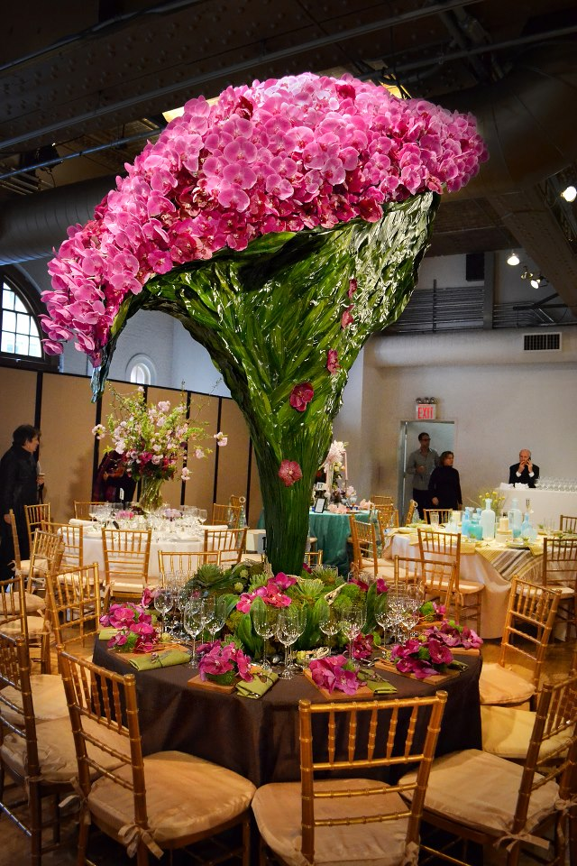 """Orchids cascading from more than 7 feet high - """"Best Show ..."""