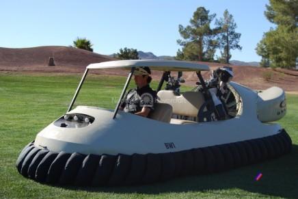 Golf hovercraft – a magic carpet floating around a golf course