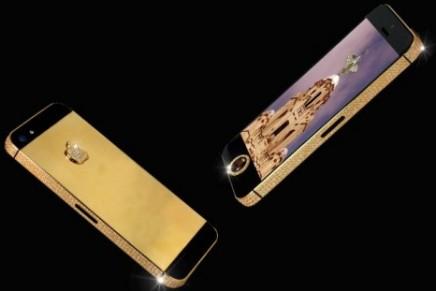 Stuart Hughes creates world's most expensive iPhone 5