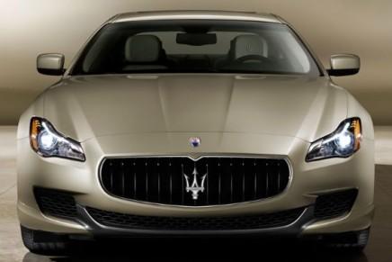 Limited edition Maserati with Ermenegildo Zegna trims