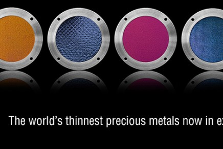 Luxefoil's new Nanoscale Metals to be unveiled at Baselworld 2013