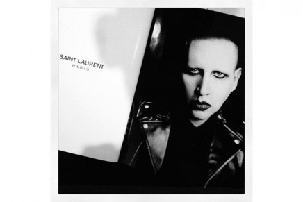 Fabulous and frightening Marilyn Manson – the new face of Saint Laurent's spring campaign