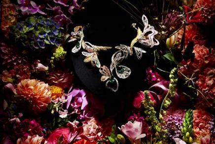 Azuma Makoto for Boucheron high jewelry garden