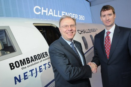 EBACE 2013: Challenger 350 Jet unveiled by Bombardier