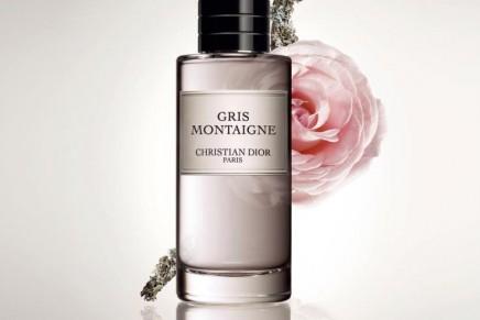 Colour becomes a perfume: La Collection Privée Dior Gris Montaigne