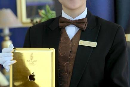 24-carat gold iPads for Burj Al Arab residents