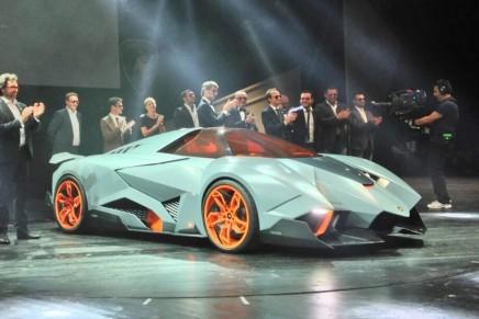 The selfish wild one-seater from Lamborghini