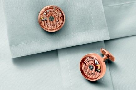 Horological cufflinks: creativity for the wrist