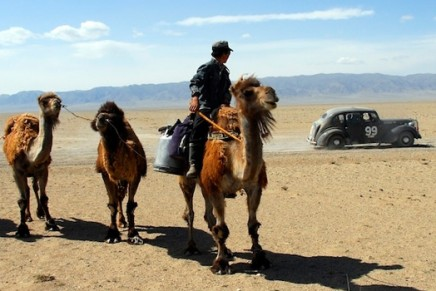 Driving through the remotest places on earth: 5th Peking to Paris vintage cars rally